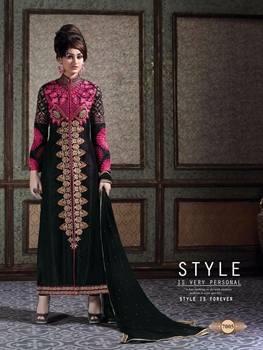 Picture of 7005Black Exclusive Fancy Designer Suit