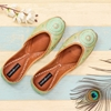 Picture of Green Embroidery Bridal Shoes