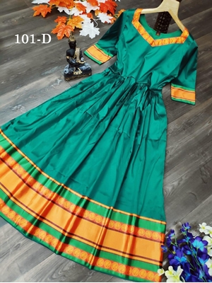 Picture of 101D Tapeta Silk Long gown