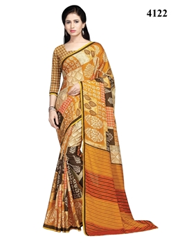 Picture of 4122 Designer Dyna Silk Handloom Saree