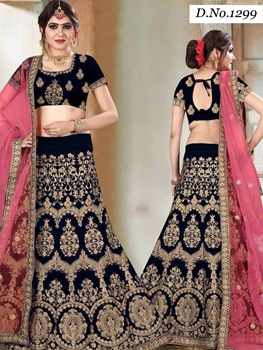 Picture of 1299 Designer Bridal Wear Lehenga Choli With Dupatta