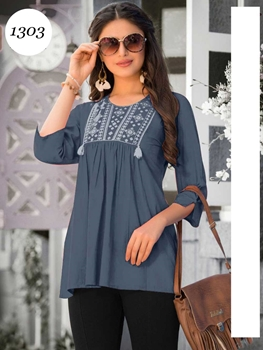 Picture of 1303 Western Cotton Top