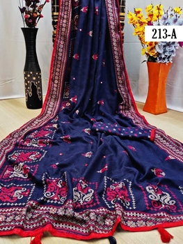 Picture of 213A Jute Silk Sarees