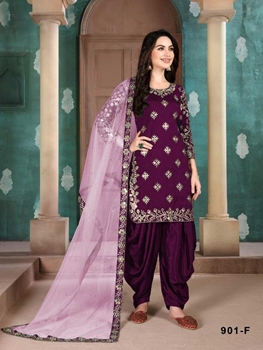 Picture of 901F Designer Patiala Suit