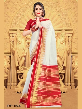 Picture of RF1104 Durga Puja Special Saree